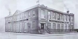 The new Birmingham works for Thomas Fattorini ltd in 1927