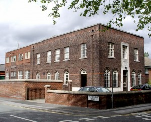 Thomas Fattorini Name badge factory in Urmston Manchester. Opened in 1963